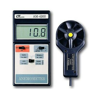 Lutron AM4202 Anemometer With Temperature (Supplied with Aust Tax Invoice)
