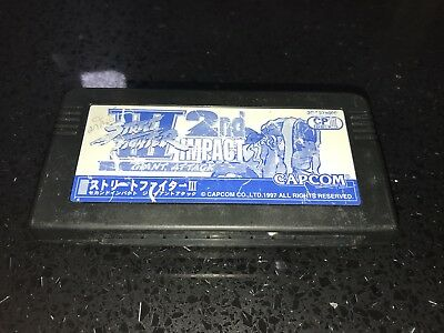 Capcom CPS3 Street Fighter 3 III 2nd Impact Cartridge - Working, No Battery