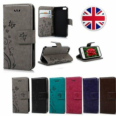For Samsung Galaxy S5/S6 Note 4 Note5 Wallet Leather Case Flip Stand Phone Cover