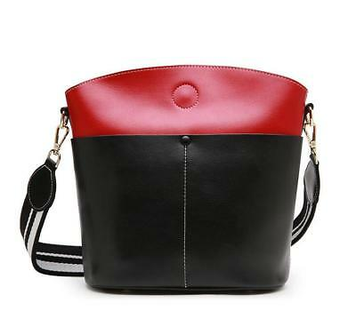 Fashion Womens Bag Cowhide Genuine Leather Handbag one Shoulder Bags &0916