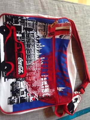 Coca Cola 2006 LONDON Messenger Bag RARE Made in USA Discontinued