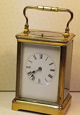 Large  Four Glass Repeat Carriage Clock