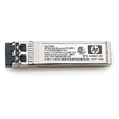 Hewlett Packard Enterprise 8Gb SW SFP+ 4-pack 8000Mbit/s SFP