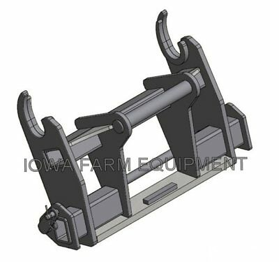 Adapter, Gehl Dynattach to Manitou MLT523, MLT625, MLT840 Quick Attach Systems