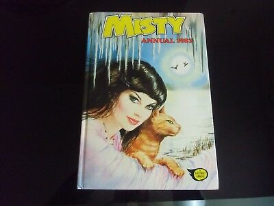 Rare Misty Annual 1981 , Beautiful Book , In Really Good Condition .