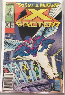 X-Factor #24 (Jan 1988, Marvel) First Appearance Archangel