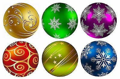 Christmas Baubles Drink Coasters