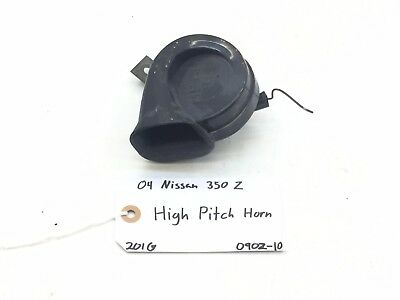 NISSAN 350Z HIGH/LOW Pitch Tone Horn Signal Beep OEM 03 04