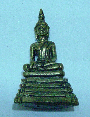Akshobya Buddha  brass bronze molded sculpture