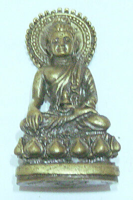 Amitayus Buddha  brass bronze molded sculpture