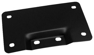 Rick Fairless Flat Black Lay Down License Plate Mount Victory Cross 2010-2015