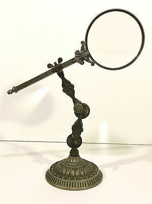 Adjustable MAGNIFYING GLASS ON STAND