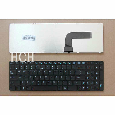 New ASUS A52JK A52JR A52JT A52JV F50SL N70SV UL50VS US white keyboard with frame