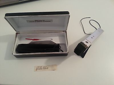 Microphone Electret Modulation FM Sony CTR-30 Made in Japan Vintage 1968