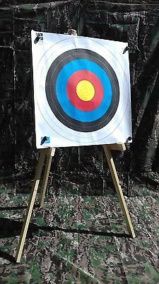 Folding Archery Target Stand Tripod Strong/solid Recurve Bow Crossbow Straw/foam