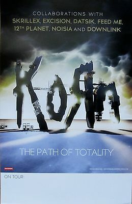Korn - THE PATH OF TOTALITY Promo Poster [2011] - VG++