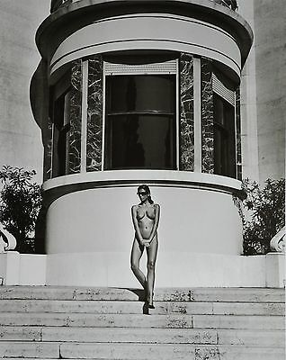 Helmut Newton Sumo Photo Print XXL Naked and Dressed Italian Vogue Brescia 1981