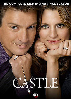Castle: The Complete Eighth Season (DVD, 2016, 5-Disc Set) USED - FREE EXP SHIP