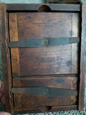 Vintage Eastman Kodak Wooden Contact Printing Frame negative press unique