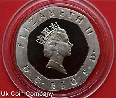Royal Mint Decimal Proof 20p Twenty Pence Coin Choose Year