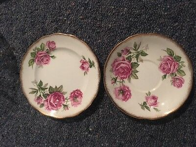 Orleans Royal Standard England 2 x plate set