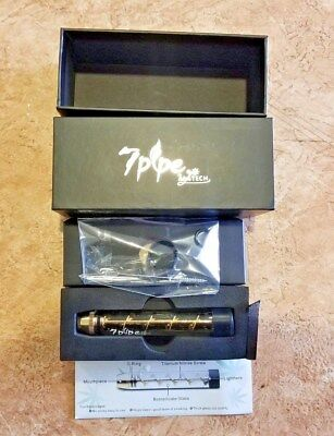 New Smoking Gold Twisty Glass Blunt Obsolete FREE SHIPPING~ US SELLER~