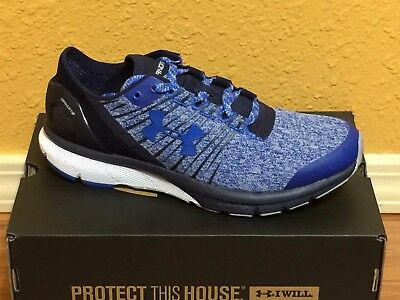 new arrival be7b4 c0be3 NEW IN BOX Under Armour UA Charged Bandit 2 Men's Running Shoes-blue /  black-907