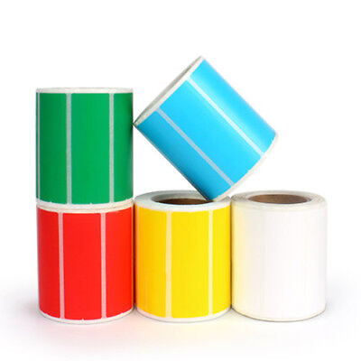 Adhesive Thermal Sticker Paper Blank Label printing paper Colorful Thermal pape