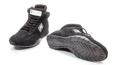 OMP Racing Black Size 9 Mid-Top OS 50 Driving Shoe P/N IC792071090