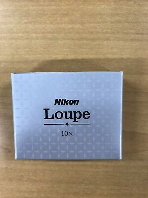 Nikon Jewelry Expert Loupe 10X NEW (Made in Japan)