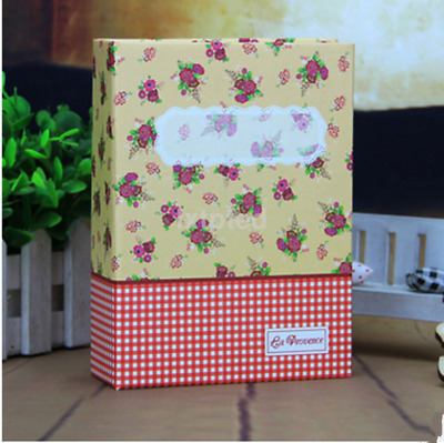"Photo Album Holds 100pcs 6"" Photos Picture Storage Case Family Memo au~"