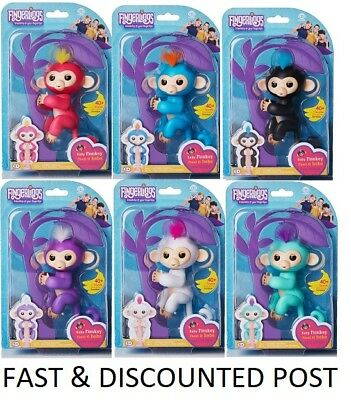 *GENUINE* FINGERLINGS Baby Monkey Electronic Pet BELLA MIA SOPHIE FINN ZOE BORIS