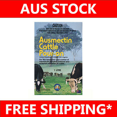 Ausmectin Cattle Drench Pour On 1Lt Equiv. Ivomec