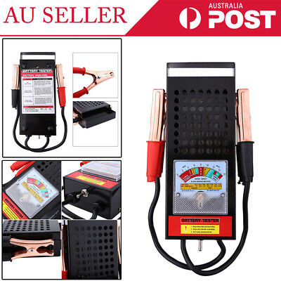 Battery Load Tester | 6V 12V Volt | Automotive Car Truck Boat Bike 100 Amp