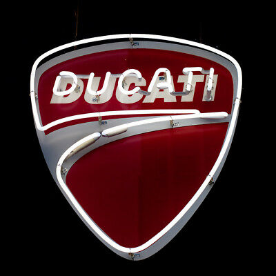 Ducati Italian Automobile - ME636 - Motorcycle Neon Light Sign **FREE SHIPPING**