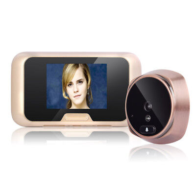 "3"" TFT IR Day/Night View Digital Peephole Door Viewer Doorbell 120 Degree Motion"