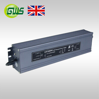 IP67 Waterproof LED 12V Strip Transformer/Power Adaptor/Driver 80W/120W/200W