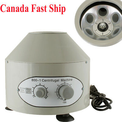 CA SHIP 110V Medical Low speed Electric Centrifuge Machine 4000rpm With 6 Tube