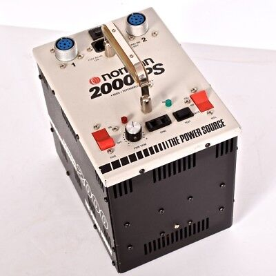 NORMAN 2000-PS Electronic Flash generator.  Flash will not fire. For Parts.