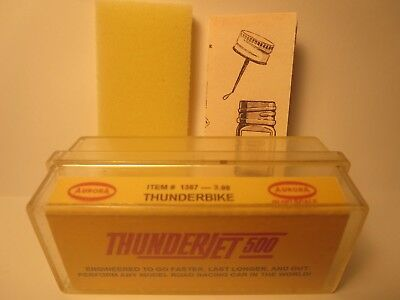 1387 Thunderbike 3.98 Ho Slot Car Insert Aurora T-Jet Free Foam + Diagram