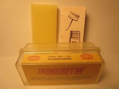 1387 Thunderbike 4.00 Ho Slot Car Insert Aurora T-Jet Free Foam + Diagram