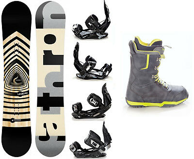 Snowboard Pathron Legend Black Camber + Raven Bindungen + Boots Raven Team -Neu!