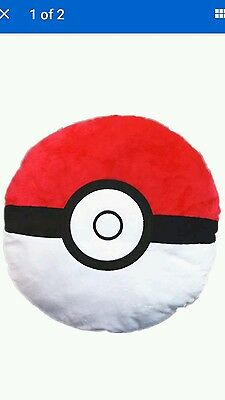 Pokemon ball cushion