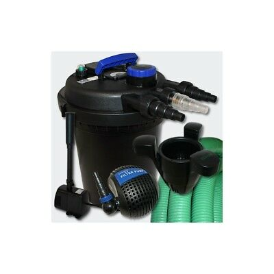 Kit de Filtration à Pression 6000l UVC 11W Pompe Fontaine Ecumeur 40 Helloshop2