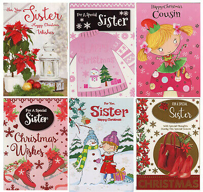 CUTE TRADITIONAL GODFATHER CHRISTMAS CARD VARIOUS DESIGNS 1STP/&P GREETING CARDS