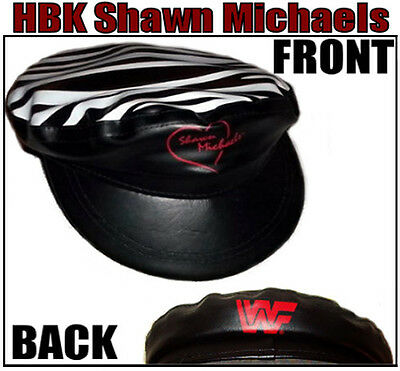 WWF Wrestling: LARGE Authentic HBK Shawn Michaels Collectible Hat  RARE OOP WWE