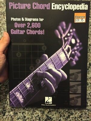Picture Chord Encyclopedia For Guitar Over 2,600 Chords To Learn.