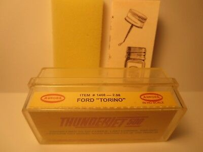 1408 Ford Torino Ho Slot Car Insert Aurora T-Jet Free Foam + Diagram