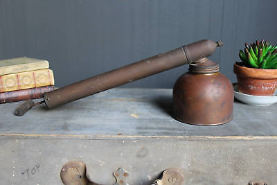 Vintage Copper Bug Sprayer, Copper Pesticide Insecticide Pump Spray Applicator