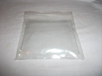 Square convex Clock Glass, 10 cm, 3.93 inches.